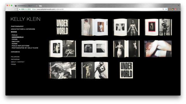 KELLY KLEIN / UNDER WORLD
