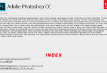 Photoshop INDEX